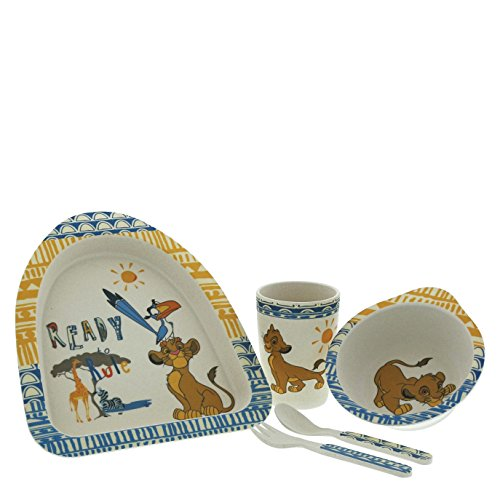 Lion King Simba Organic Dinner Set made from Bamboo including ()