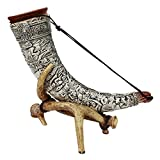 Peter Duemler German Drinking Horn with Stand, Celtic Drinking Horn, Limited Edition