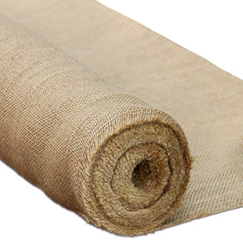 - RUSPEPA Natural Burlap Fabric Rolls - Rustic Burlap Suitable for Agriculture,Tasks,and Crafts - 40Inch X 10Yard