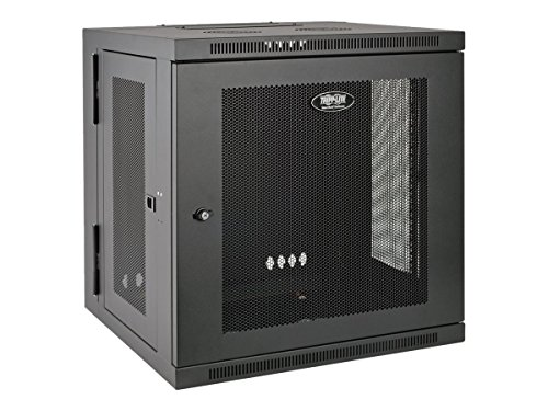 Tripp Lite 12U Wall Mount Rack Enclosure Server Cabinet, Hinged Back, 24.5 in. Deep, UPS-Depth (SRW12USDP)