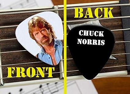 Set of 3 Chuck Norris Walker Texas Ranger premium Promo Guitar Pick Pic