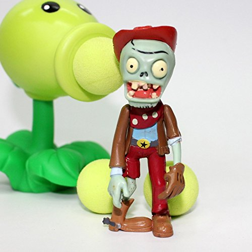 Rabbit malls,New Popular Game PVZ Plants vs Zombies Peashooter PVC Action Figure Model Toy 18 Style 10CM Plants Vs Zombies Toys For Baby Gift by Rabbit malls