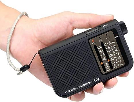 Mouwa Radio Digital Portátil, FM Retro/Am/SW Radio con Retráctil Girada Antena Y Toma De Auriculares con Pilas Soporte para Actividades Interiores Y Exteriores para Los Padres: Amazon.es: Deportes y aire libre