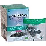 Two Leaves and a Bud Organic Herbal Tea Peppermint -- 15 Tea Bags