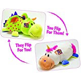 FlipaZoo Jumbo (Unicorn/Dragon – 24in) by Jay at Play – Transforming Plush Toy is Not Your Average Stuffed Animal – 2-in-1 Toy Gives Kids Two Exciting Character Choices with Just a Flip