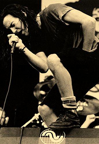 Eddie Vedder Poster, Singing, Live in Concert, Pearl Jam by Unknown