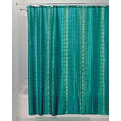 InterDesign Moxi Fabric Shower Curtain -  - shower-curtains, bathroom-linens, bathroom - 51%2BDY5ynQ0L. SS400  -