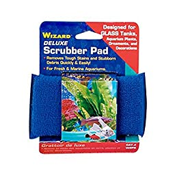 Penn Plax Wizard Algae Pad f/glass 5\