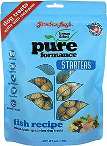 Grandma Lucy's 1 Piece Pureformance Starters Fish Recipe Freeze Dried Dog Treats, One Size