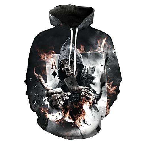 Homme Hoodie Capuche Multicolore Animal Manches Sweats Vest Pull shirt Unisexe T C Casual Robo Longues À Avec Top 7 3d E7twqT