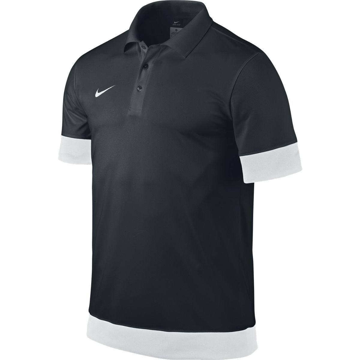 Nike Short Sleeve Polo SS Blocked Polo Blanco/Negro Talla:XXX ...