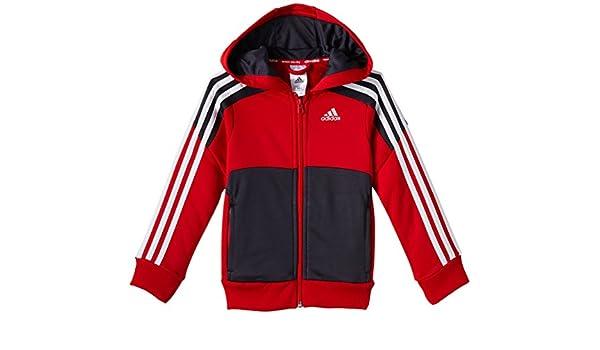 Sudadera con capucha Adidas Originals YB Climalite - Talla: 11-12 ...