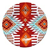 HiEnd Accents (DI5002DP04) Southwest Melamine Dinner Plate, 10.5-Inches, set of 4 PCS -  Multicolor
