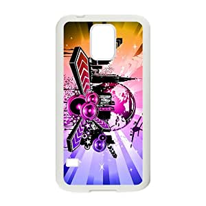 Shining City Graffiti Hot Seller High Quality Case Cove For Samsung Galaxy S5