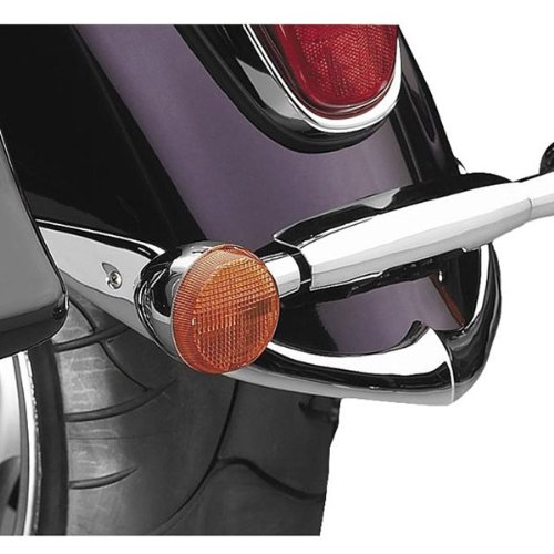 - National Cycle Chrome Rear Fender Tip for Yamaha Road Star N7033