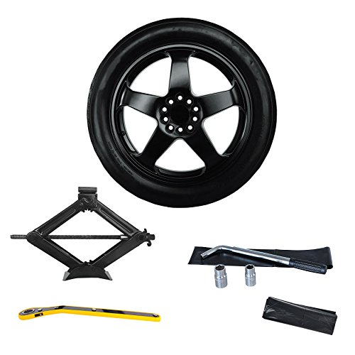2008-2014 Cadillac CTS Sedan, Wagon, Coupe Complete Spare Tire Kit - All Trims Models Including CTS-V - Modern Spare ()