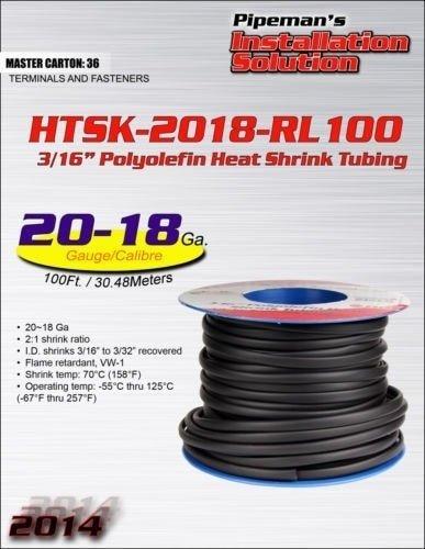 "100/' Feet Spool GREEN 1//8/"" 3mm Polyolefin 2:1 Heat Shrink Tubing Tube US 100 FT"