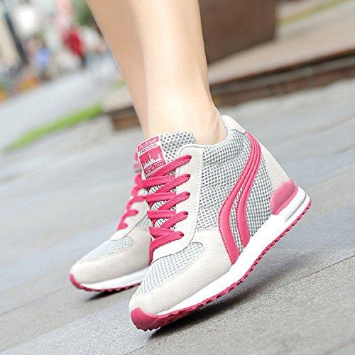 Gris Gran Opción Vida Sneakers Compañero Mujer Mujer Verano Zapatos Comodos Zapatillas Casuales Mejor La De Deportivas Cotidiana Cuna Vida Plataforma Para Lily999 qw1U8APP