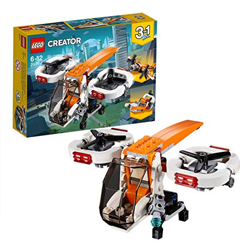 LEGO Creator 3in1 Drone Explorer Building Blocks for Kids 6 to 12 Years