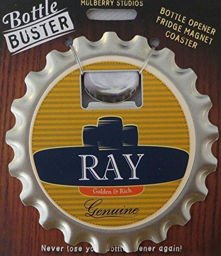 2 Sets of Bottle Opener Fridge Magnet Coaster All in One - Ray