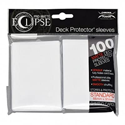 Ultra Pro UPR85600 Eclipse Standard Matte Card Sleeves: Toys & Games