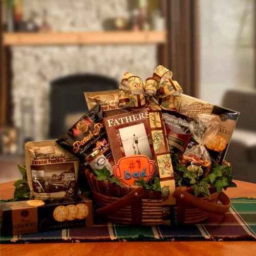 Father's Day Snacks and More -Great Father's Day Gift Basket Idea!