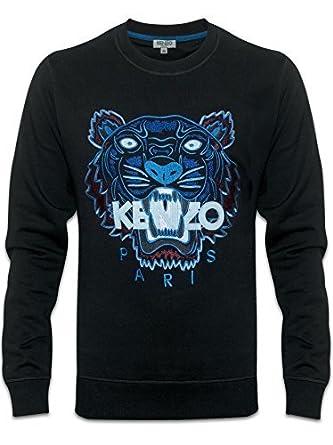 2a1c31a65bf Kenzo - Sweat-Shirt - Homme - Bleu - X-Large  Amazon.fr  Vêtements ...