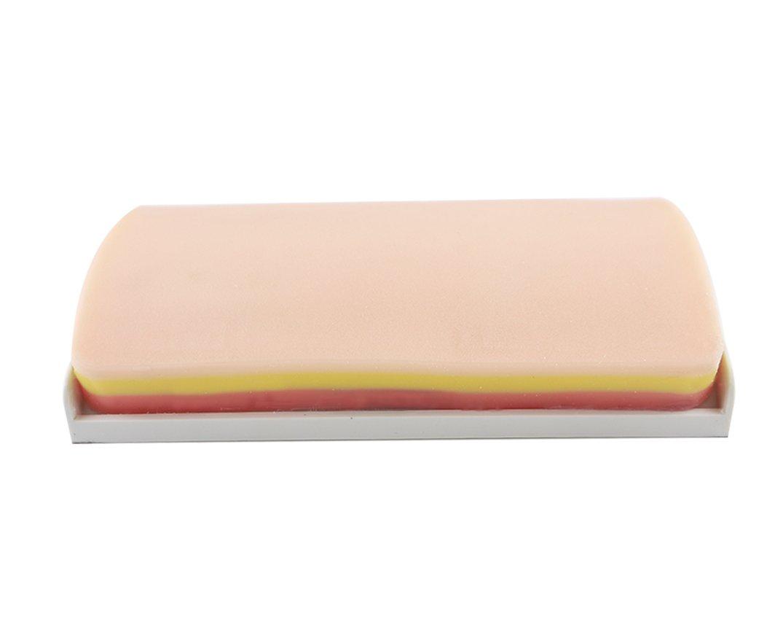 Sutura Formaci/ón Pad con piel artificial con 3/capas de silicona resistente y Base 7,87/5.12/1,57/pulgadas