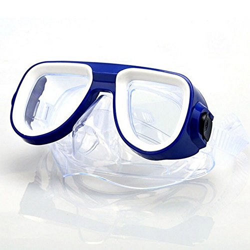 243db46dcc5 TiTa-Dong Diving Snorkeling Mask Anti-fogging Silicone Flexible Scuba Mask Swimming  Goggles Tempered Glass Lens for Kids Adults Color Random