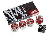 inline skate wheel spacer - Aggressivemall SWISS Inline Skate Bearings (8 set)