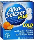 Alka-Seltzer Plus Cold Formula Effervescent Tablets Orange Zest - Best Reviews Guide