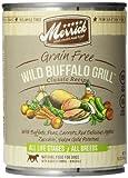 Merrick Wild Buffalo Grill Dog Food 13.2 Oz (12 Count Case)