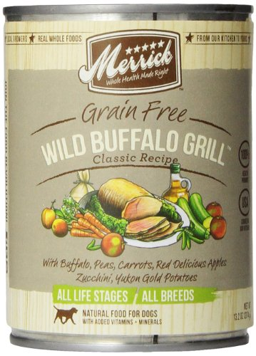 Merrick Wild Buffalo Grill Dog Food
