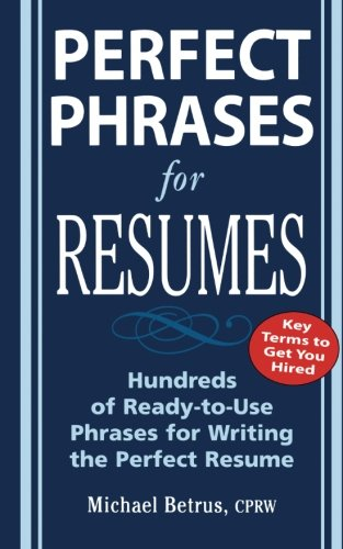 phrases for resumes