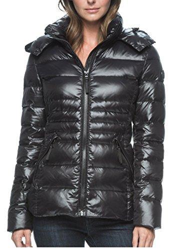 Andrew Marc Ladies' Short Down Jacket (Small, Black)