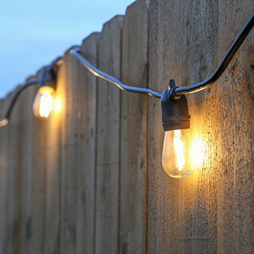Construction Site String Lights: Brightech Ambience Pro LED, Outdoor String Lights- Patio