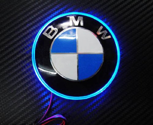 Ijdmtoy 82mm Bmw Trunk Hood Emblem Background Lighting Kit