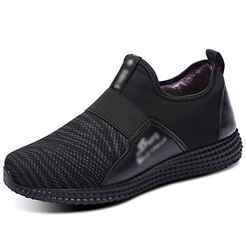 Men's Shoes Feifei High-Quality Materials Leisure Non-Slip Winter Keep Warm 3 Colors 01 sNJqy