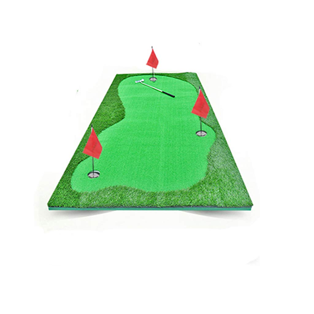 Golf putter pad Clean Strike' Chipping Practice Mat - Golf Winter Rules/Lies Mat - Training Driving Practice (Color : Competition Grass)