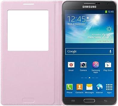 Samsung S-View - Funda para móvil Galaxy Note 3 (con pantalla ...