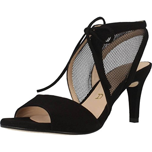 Women Black Dress Colour Black Black Sandals Dress OBISPA Brand Unisa Model Women Sandals KS dZx7adw6