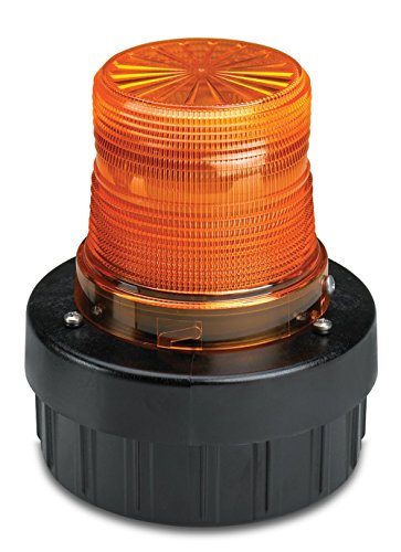 Federal Signal AV1ST-120A Strobe Combination Audible/Visual Signal 120 VAC, Pipe/Surface Mount, 120 VAC, Amber ()