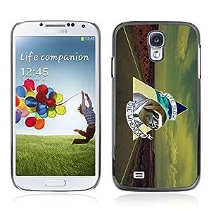 A-type Arte & diseño plástico duro Fundas Cover Cubre Hard Case Cover para Samsung Galaxy S4 IV (I9500 / I9505 / I9505G) / SGH-i337 ( Mensaje Funny Business Sloth )