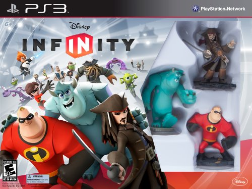 DISNEY INFINITY Starter Pack PS3 (including Syndrome and Power Disc Pack) (Best 4 Player Co Op Games Ps3)