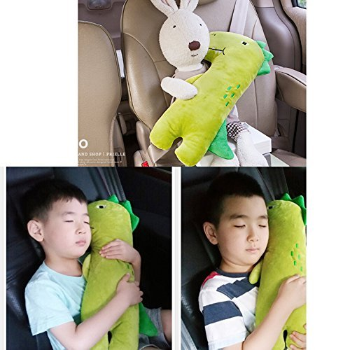 Cute Doll Car Seat Strap Belt Cushion Cover For Kids Children Adjustable Pillow Pad Vehicle