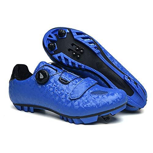 ZJH Unisex fietsschoenen carbon racefiets Schoenen Heren Sneakers Ademende Zelfremmendheid De Fiets MTB-schoenen (Kleur…