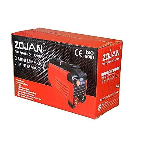 ZOJAN Welding Machine】MINI MMA-250 Portable Manual Welding Machine ...