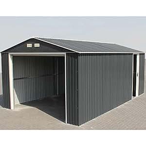 Garaje Metal Duramax con puerta sectionnelle–3,5x 5,70M–19,95M2
