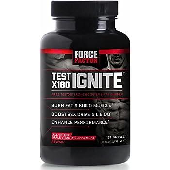 Amazon.com: Test X180 Ignite Free Testosterone Booster to