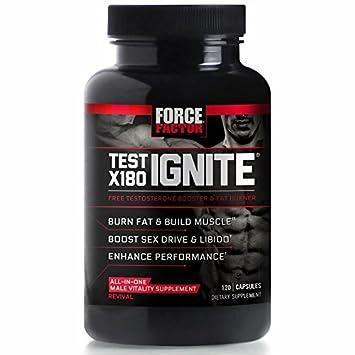 Amazon.com: Test X180 Ignite Free Testosterone Booster to Increase ...